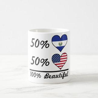 50% El Salvadorian 50% American 100% Beautiful Coffee Mug