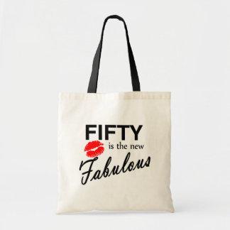 50 es el nuevo fabuloso bolsa tela barata