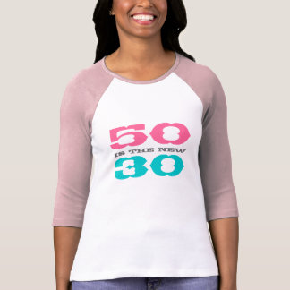 50 es la nueva camiseta 30 para el quincuagésimo playeras