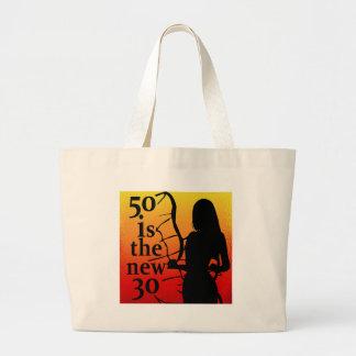 ¡50 es los nuevos 30, 50.os regalos de cumpleaños! bolsa
