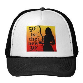 ¡50 es los nuevos 30, 50.os regalos de cumpleaños! gorra