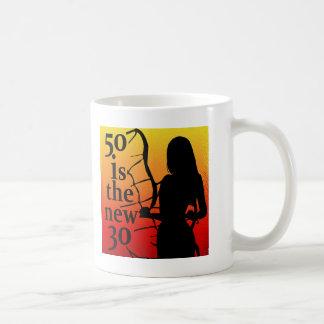 ¡50 es los nuevos 30, 50.os regalos de cumpleaños! tazas