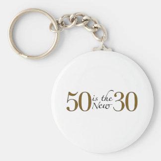 50 es los nuevos 30 llaveros personalizados