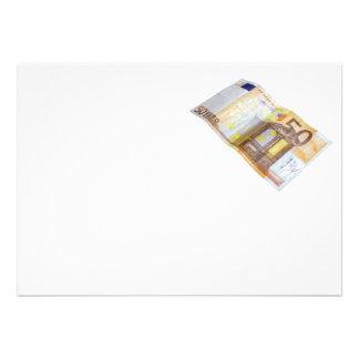 50 Euros Custom Invites