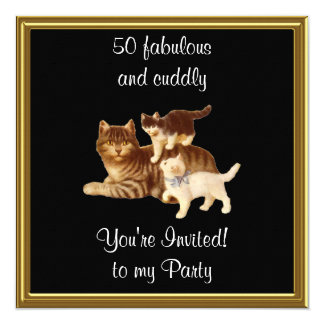 50 Fabulous and cuddly birthday Party Invitation