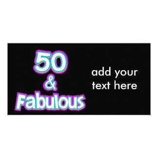 50 & Fabulous Birthday Gifts Card