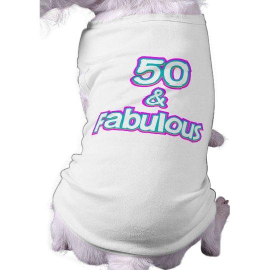 50 & Fabulous Birthday Gifts T-Shirt