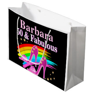 50 & FABULOUS DIVA LARGE GIFT BAG