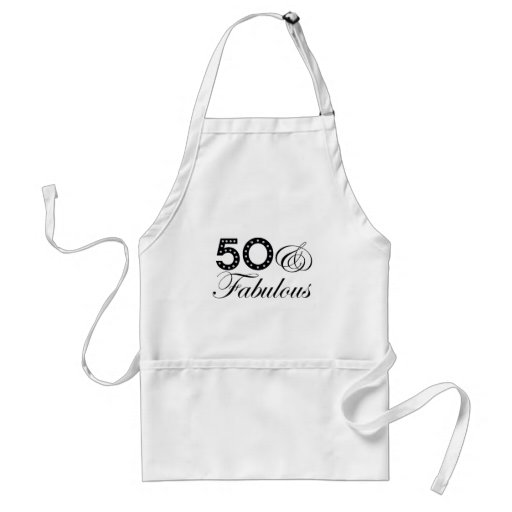 50 & Fabulous Gift! Aprons