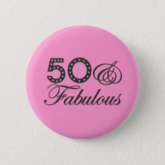 50 & Fabulous Gift Pinback Button