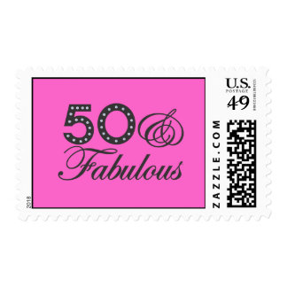 50 & Fabulous Postage Stamps