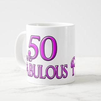 50 & FABULOUS EXTRA LARGE MUGS