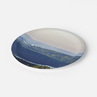 50 Foot View Of Saimaa Lake 7 Inch Paper Plate