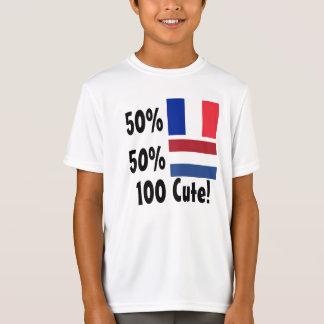 50% French 50% Dutch 100% Cute T-Shirt