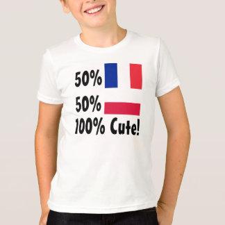 50% French 50% Polish 100% Cute T-Shirt