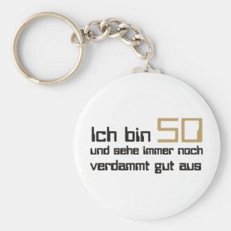 50 Geburtstag Schlüsselanhänger