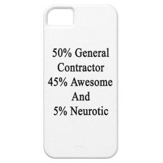 50 general neurótico 45 impresionante y 5 de funda para iPhone SE/5/5s