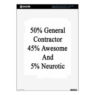 50 general neurótico 45 impresionante y 5 de iPad 3 skin