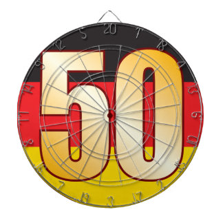 50 GERMANY Gold Dartboards