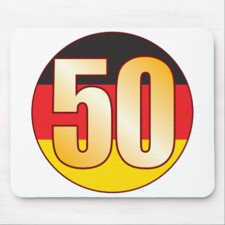 50 GERMANY Gold Mouse Pad