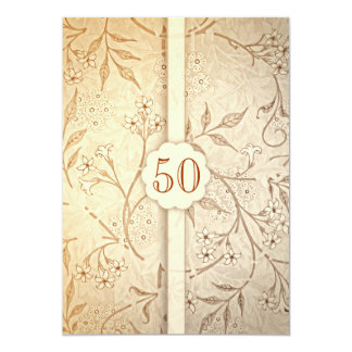 50 golden wedding anniversary invitations