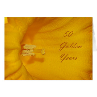 50 Golden Years # 2 Card