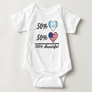 50% Guatemalan 50% American 100% Beautiful Baby Bodysuit