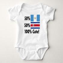50% Guatemalan 50% Costa Rican 100% Cute Baby Bodysuit