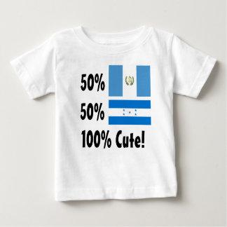 50% Guatemalan 50% Honduran 100% Cute Baby T-Shirt