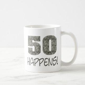 50 Happens! Mug