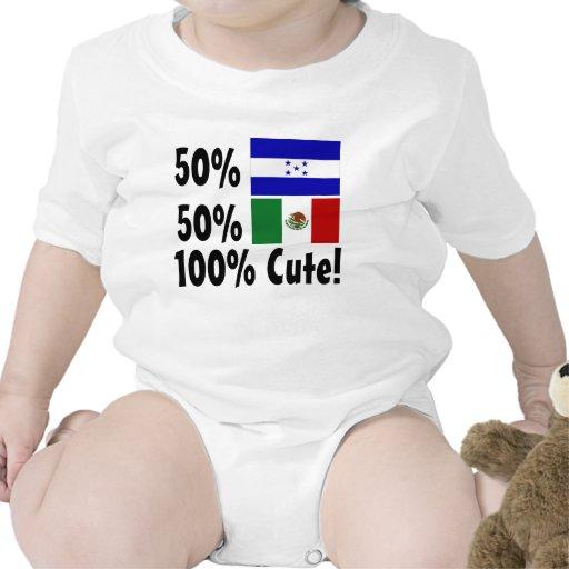 50% Honduran 50% Mexican 100% Cute Tees