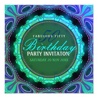 50 invitaciones fabulosas maravillosas de la invitación 13,3 cm x 13,3cm
