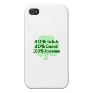 50% Irish 50 100% Awesome iPhone 4/4S Cases