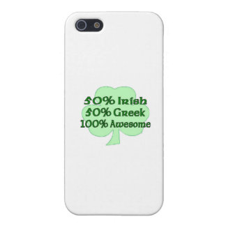 50% Irish 50 100% Awesome iPhone 5 Covers