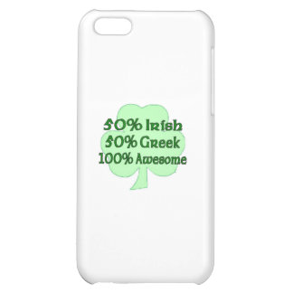 50% Irish 50 100% Awesome iPhone 5C Cover