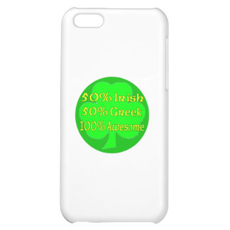 50% Irish 50 100% Awesome iPhone 5C Covers