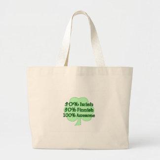 50% Irish 50% Finnish 100% Awesome Bag