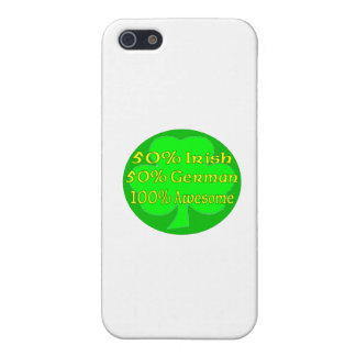 50% Irish 50% German 100% Awesome Cover For iPhone 5