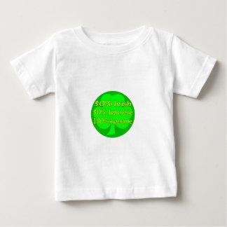 50% Irish 50% Japanese 100% Awesome Baby T-Shirt