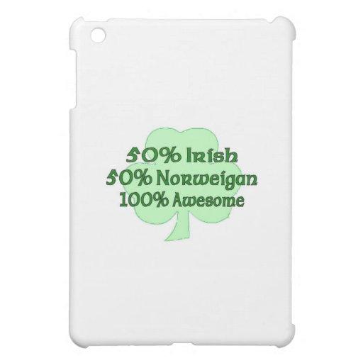 50% Irish 50% Norweigan 100% Awesome iPad Mini Case
