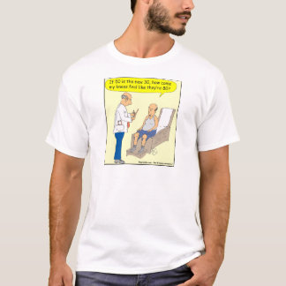 50 Is The New 30 Cartoon T-Shirt