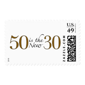 50 Is The New 30 Postage