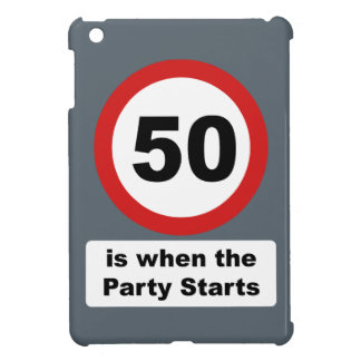 50 is when the Party Starts iPad Mini Covers