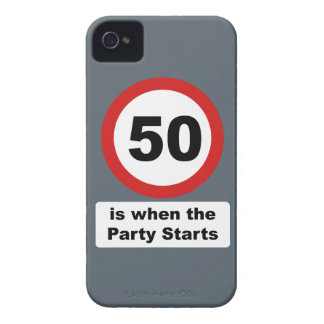50 is when the Party Starts iPhone 4 Cover