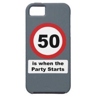 50 is when the Party Starts iPhone SE/5/5s Case