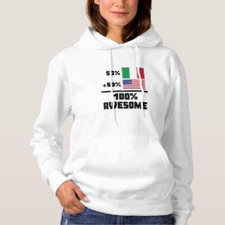 50% Italian 50% American 100% Awesome Hoodie