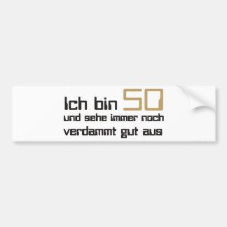 50 Jahre Bumper Sticker