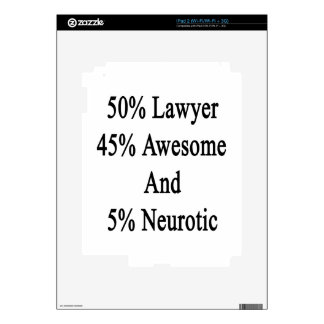 50 Lawyer 45 Awesome And 5 Neurotic Skin For iPad 2