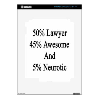 50 Lawyer 45 Awesome And 5 Neurotic Skin For iPad 3