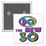 50 los nuevos 30 50.os regalos de cumpleaños pins